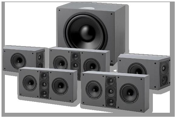 Jamo D600 THX Ultra2 Home Theatre System