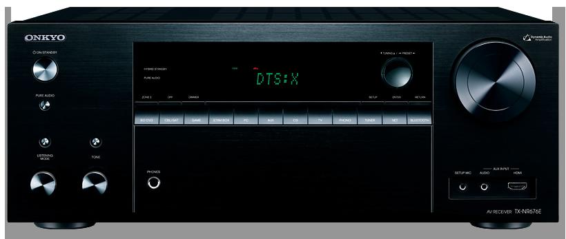 Onkyo TX-NR676E 7.2-Channel DTS:X & Dolby Atmos Ready Network A/V Receiver