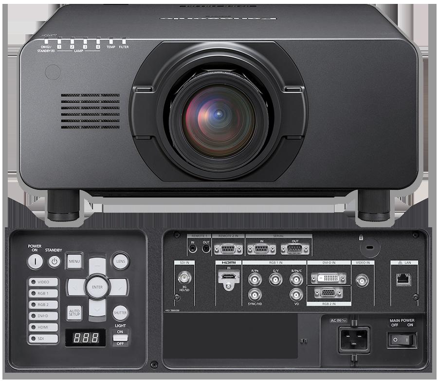 Panasonic PT-DZ16K2E Full HD 16000 Lumen 3-Chip DLP Projector