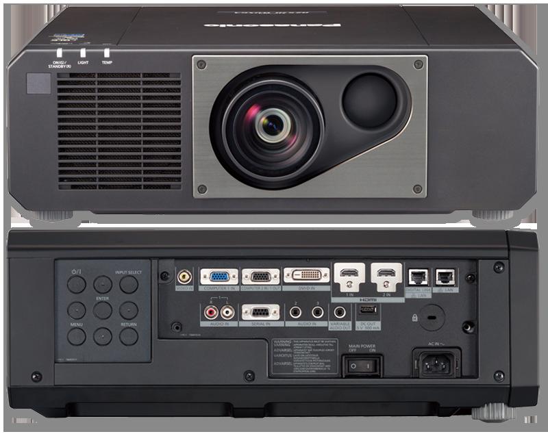 Panasonic PT-RZ575E WUXGA 5000 Lumens Digital Link Laser 1-Chip DLP Projector