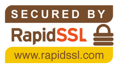 Secured by RapidSSL