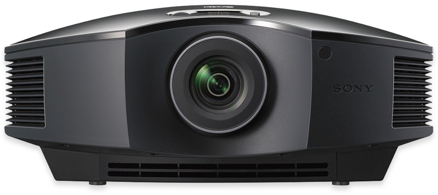 Sony HW45ES SDXRD Full HD 3D Home Cinema Projector - front