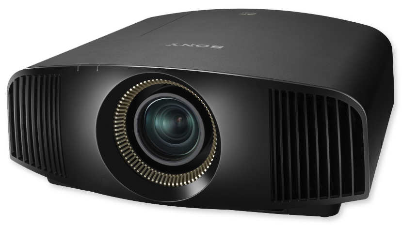 Sony VW320ES 4K 3D 1500 Lumens SXRD Home Cinema Projector - front view
