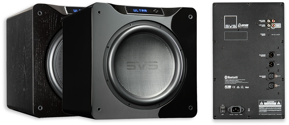 """SVS SB16-Ultra 16"""" 1500W RMS Compact Sealed Subwoofer"""