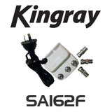 Kingray 2 Way 'F' Splitter Amplifier