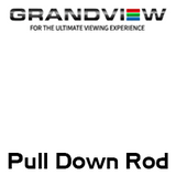 Grandview 1m Pull Down Rod For Out Of Reach Screens