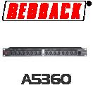 Redback 2 Channel Stereo Compressor / Gate / Limiter