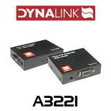 Dynalink VGA + Audio over cat5/6 balun kit (up to 300m)