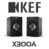 KEF X300A Digital Hi-Fi Speakers (Pair)