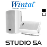 "Wintal 5"" Active Indoor/Outdoor Speakers (Pair)"