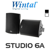 "Wintal 6.5"" Active Indoor/Outdoor Speaker (Pair)"