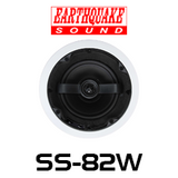 "EarthQuake SS-82W 8"" Angled In-Ceiling Speaker (Each)"