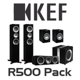KEF R500 5.1 Channel Speaker Pack