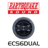 EarthQuake ECS6D Dipole/Bipole Single Stereo In-Ceiling Speaker (Each)