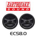 "EarthQuake ECS8.0 8"" Edgeless In-Ceiling Speakers (Pair)"