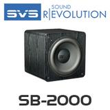 """SVS SB-2000 12"""" Compact Sealed Subwoofer"""