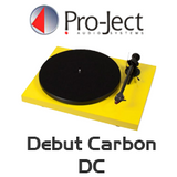 Pro-Ject Debut Carbon DC Turntable inc. Ortofon OM 10
