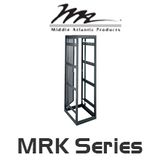 "Middle Atlantic MRK Series 44RU Height Rack System with 31"" / 36' / 42"" Deep"