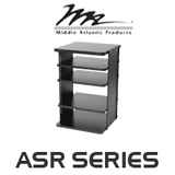 """Middle Atlantic ASR Series 18"""" Deep Slide-Out and Rotate Shelved Rack"""