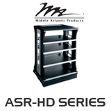"""Middle Atlantic ASR-HD Series 20"""" Deep Slide-Out and Rotate Shelved Rack"""