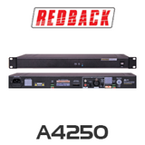 Redback A4250 Compact 1RU PA Amplifier 100W