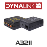 Dynalink A3211 Component & Infra-Red Cat5e /6 Balun Package