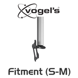 "Vogels C0822 Small-Medium Flat Panel VESA mount Ceiling Kit (26-37"" TV)"