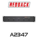 Redback Attenuator 5 Zone Evac 40W/100V 12 Position