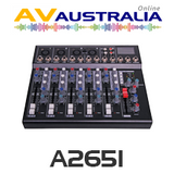 6 Channel Mixing Desk With USB Playback