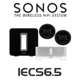 Sonos Connect Amp & EarthQuake In-Ceiling Speaker Package