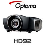 Optoma HD92 Super LED 3D Home Theatre Projector