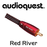AudioQuest Red River RCA Male Interconnect Cable (Pair)