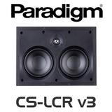 "Paradigm CS-LCR v3 Dual 5.5"" Bezel Free 2-Way In-Wall LCR Speakers (Each)"