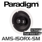 "Paradigm AMS-150RX-SM 8"" X-Treme Moisture Application Dual Voice Coil In-Ceiling Speakers (Each)"