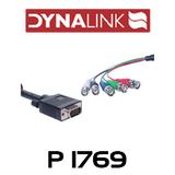 DE15 Male High Density To 5 BNC Coax Monitor Lead - 2m