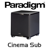 """Paradigm Cinema Sub 8"""" 100W Subwoofer"""
