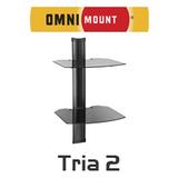 OmniMount Tria 2 AV Wall Mount Shelfs