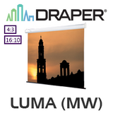 Draper XT1000E Luma Manual Projection Screen (Matt White)