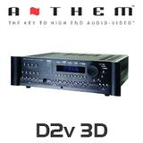 Anthem D2v 3D 7.1-Channel Full Features A/V Pre-Amplifier / Processor