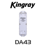 Kingray DA43 F Type MATV Distribution Amplifier (40-860MHz)