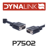 Dynalink Filtered VGA Lead Male-Male