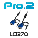 Pro2 Filtered VGA+3.5mm Stereo Lead