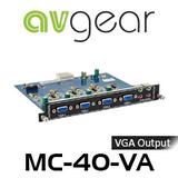 AVGear MC-4O-VA 4 VGA and Audio Output Card