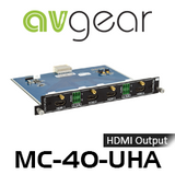 AVGear MC-4O-UHA 4 HDMI Output Card Supports 4K with De-Embedded Audio