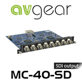 AVGear MC-4O-SD 4 SDI Output Card
