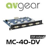 AVGear MC-4O-DV 4 DVI Output Card