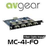 AVGear MC-4I-FO 4 Optical Fiber Input Card Supports 4K