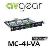AVGear MC-4O-VA 4 VGA and Audio Input Card