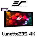 Elite Screens Lunette235 Curved Fixed Frame 2.35:1 4K with Acoustically Transparent Material