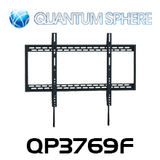 "Quantum Sphere QP3769F 65""-100"" Extra Large Flat Screen TV Fixed Wall Mount"